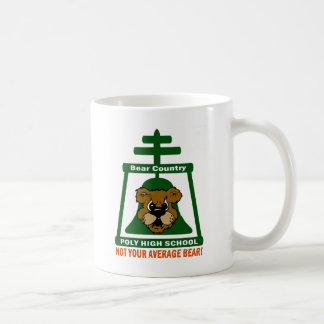 Poly High School Bear & Raincross - Coffee Mug