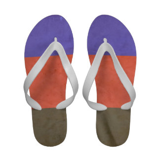 POLYAMOROUS PRIDE VINTAGE DESIGN - 2014 PRIDE png Sandals