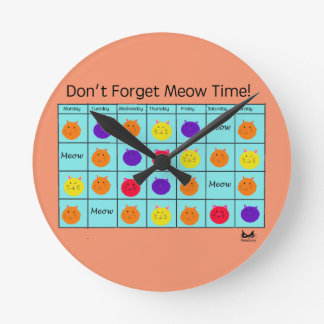Polyamory Cat: Meow Time Clock