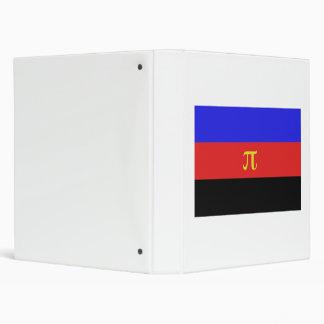 Polyamory Flag 3 Ring Binder