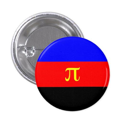 Polyamory flag button