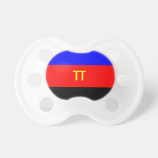 Polyamory Flag Pacifiers