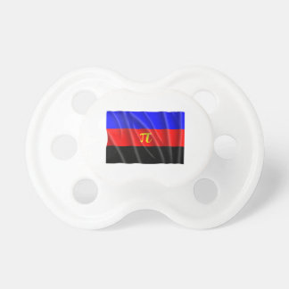 POLYAMORY FLAG FLYING PACIFIERS