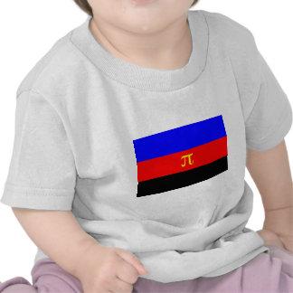 Polyamory Flag -- Pi 3-color Shirt