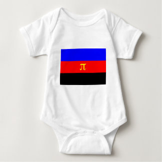 Polyamory Flag -- Pi 3-color Tshirts