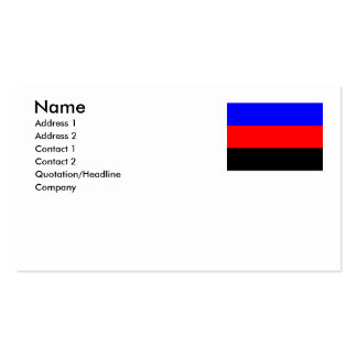Polyamory Flag - png Business Card Template