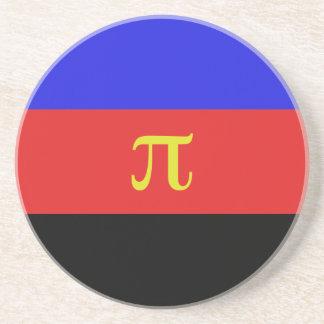 Polyamory Flag Sandstone Coaster