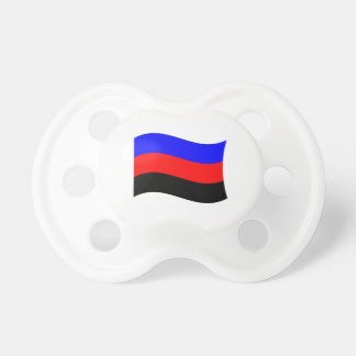 POLYAMORY FLAG WAVING STRIPES PACIFIER