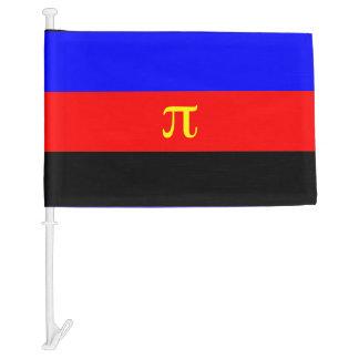 Polyamory Pride Flag Car Flag