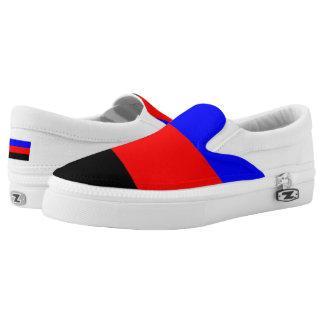 Polyamory Pride Printed Shoes
