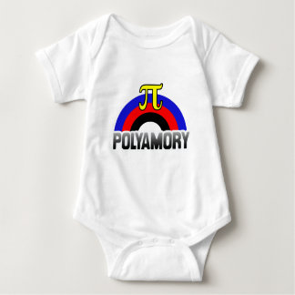 POLYAMORY RAINBOW FLAG T-SHIRT