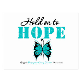 Polycystic Kidney Disease Hold On To Hope Postcard