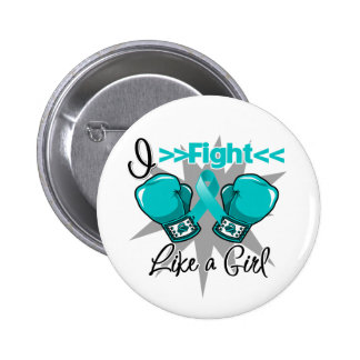 Polycystic Kidney Disease I Fight Like a Girl Buttons