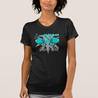 Polycystic Kidney Disease I Fight Like a Girl Tshirt