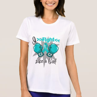Polycystic Kidney Disease I Fight Like a Girl T Shirt