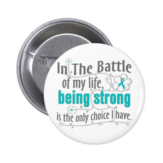 Polycystic Kidney Disease In The Battle Pinback Buttons