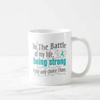Polycystic Kidney Disease In The Battle Basic White Mug