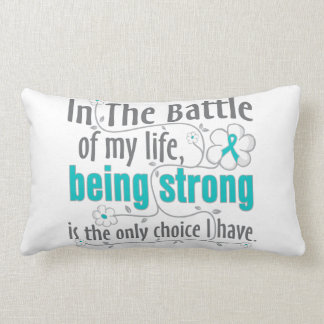 Polycystic Kidney Disease In The Battle Throw Pillows