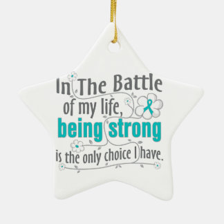 Polycystic Kidney Disease In The Battle Ceramic Star Decoration
