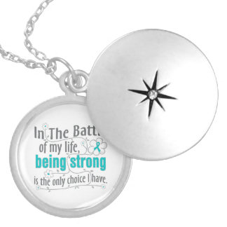 Polycystic Kidney Disease In The Battle Custom Necklace