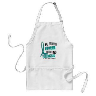 Polycystic Kidney Disease PKD Teal For Brother 37 Standard Apron