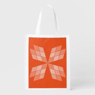 Polyester Bag - Diamond petals