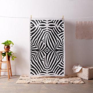 "Polyester Poplin width 60"" with Zebra Design Fabric"