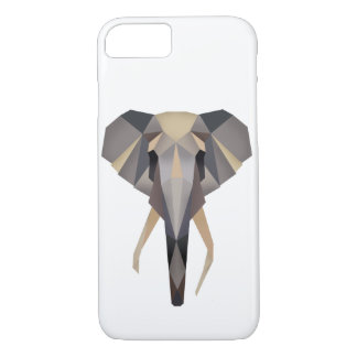 Polygon elephant iPhone 7 case