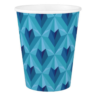 Polygon Heart Paper Cup