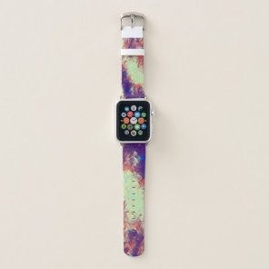 Polygon Rave Love Apple Watch Band