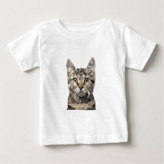 Polygonal cat baby T-Shirt