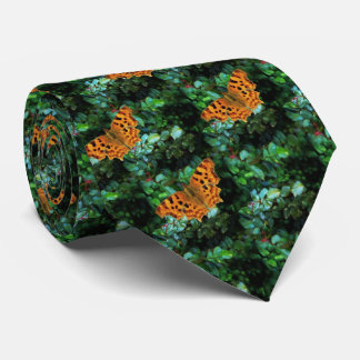 Polygonia Butterfly Tie
