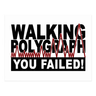 Polygraph postcard