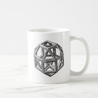 Polyhedra. Classic White Coffee Mug