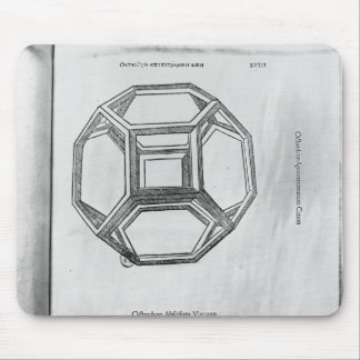 Polyhedron, from 'De Divina Proportione' Mouse Pad