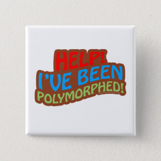 Polymorphed 15 Cm Square Badge