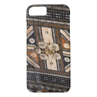 Polynesia, Kingdom of Tonga. Detail of tapa iPhone 8/7 Case