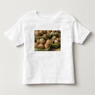 Polynesia, Kingdom of Tonga. Display of coconuts Toddler T-Shirt