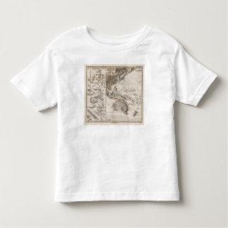 Polynesia Map Toddler T-Shirt