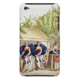 Polynesian Dancing Girls, engraved by A. Bernati ( iPod Touch Covers