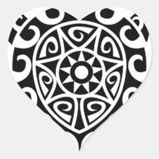 Polynesian Designed Sticker