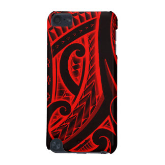 Polynesian/Maori style tattoo design patterns iPod Touch (5th Generation) Covers