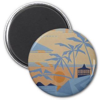 POLYNESIAN SUNSET magnet