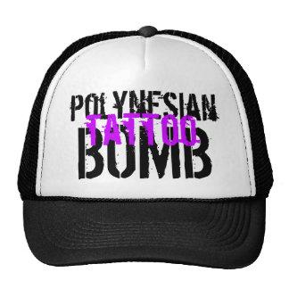 Polynesian Tattoo Bomb Trucker Hats