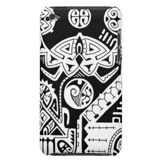 Polynesian tattoo case for Ipod touch 4G Barely There iPod Cover