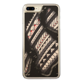 Polynesian tattoo underneath your skin carved iPhone 8 plus/7 plus case