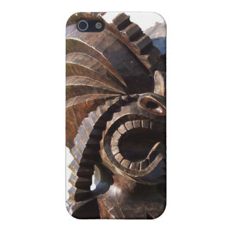 Polynesian Tiki Statue iPhone 5/5S Covers