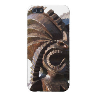 Polynesian Tiki Statue iPhone 5 Case