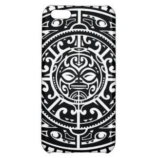 Polynesian Tribal Face 1 iPhone 5C Cases