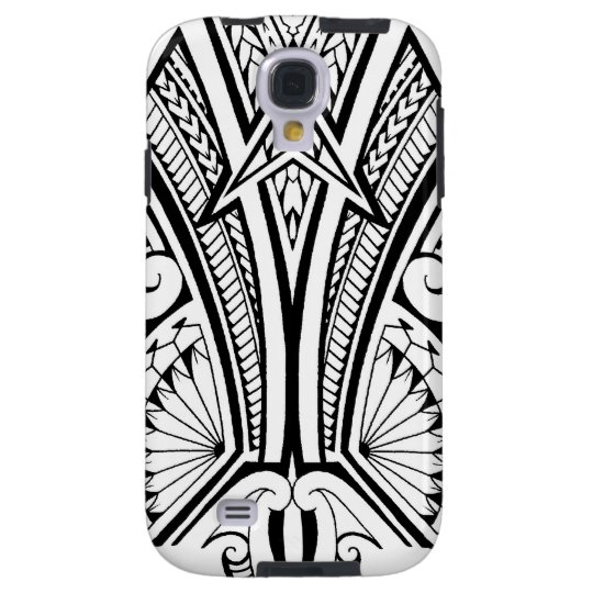 Polynesian tribal tattoo with bold patterns galaxy s4